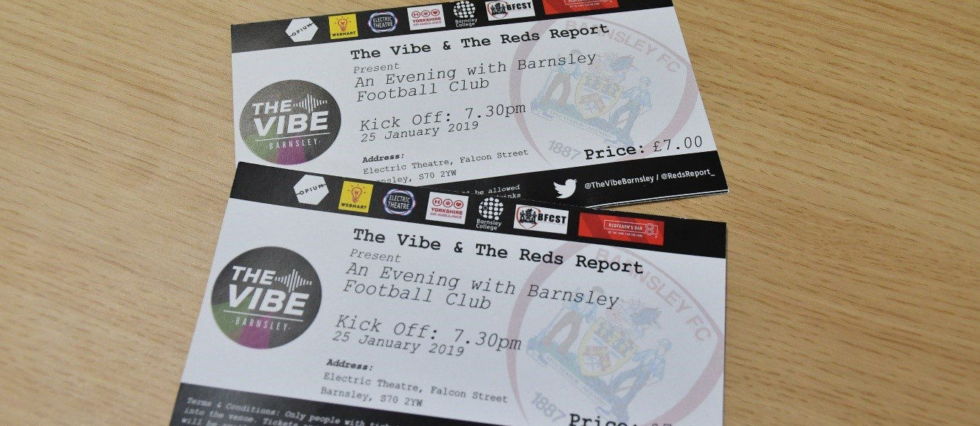 An Evening with Barnsley FC tickets