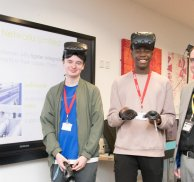 Students experience Virtual Reality