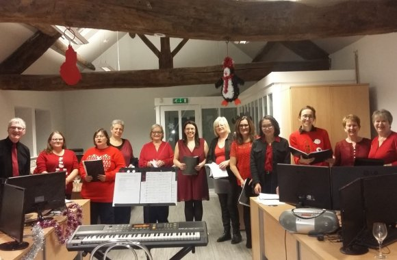 Choir raises voices, donations and community spirit
