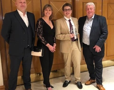 Declan scoops catering award