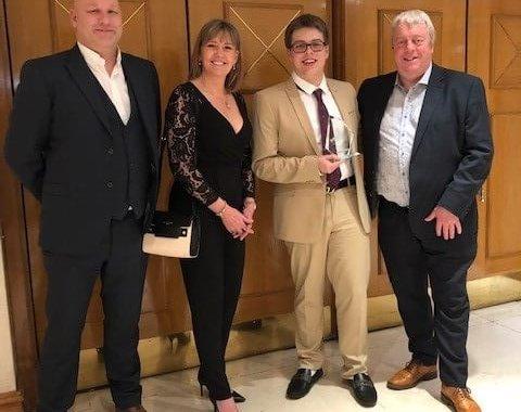 Declan scoops catering award