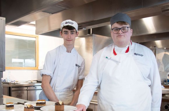 Catering students serve up the competition