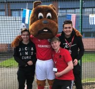 Toby Tyke returns to College for school cup